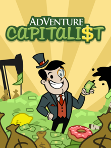 Box art for the game AdVenture Capitalist
