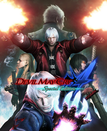 Box art for the game Devil May Cry 4 Special Edition
