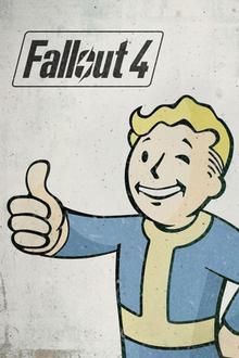 Capa do jogo Fallout 4
