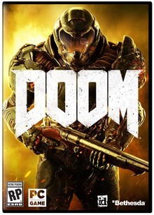Box art for the game Doom (2016)