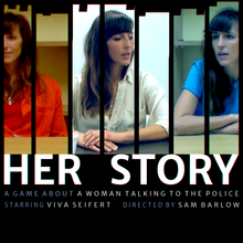 Box art for the game Her Story