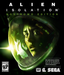 Box art for the game Alien Isolation Nostromo Edition