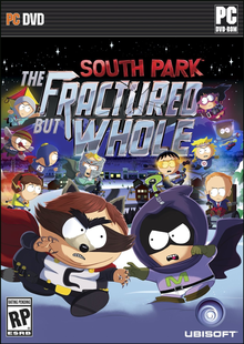 Box art for the game South Park: The Fractured but Whole