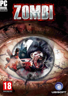 Box art for the game Zombi