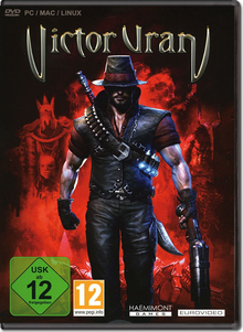 Box art for the game Victor Vran