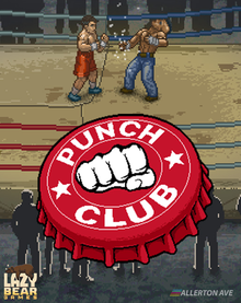 Box art for the game Punch Club