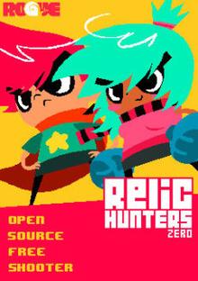 Box art for the game Relic Hunters Zero