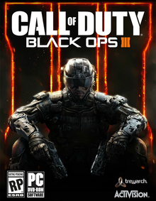 Box art for the game Call of Duty: Black Ops III