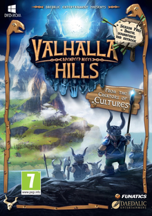 Box art for the game Valhalla Hills