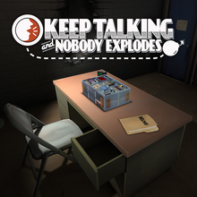 Box art for the game Keep Talking and Nobody Explodes
