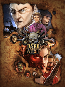 Box art for the game Hard West