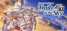 Box art for the game The Legend of Heroes: Trails in the Sky SC