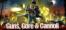 Box art for the game Guns, Gore and Cannoli