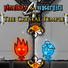 Box art for the game Fireboy & Watergirl 4 in The Crystal Temple