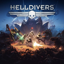 Box art for the game Helldivers