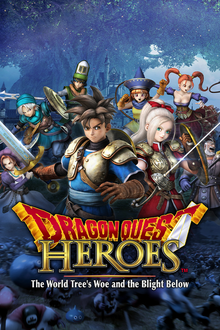 Capa do jogo Dragon Quest Heroes