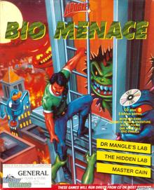 Box art for the game Bio Menace