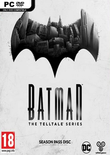 Box art for the game Batman Telltale