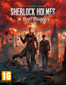 Box art for the game Sherlock Holmes: The Devil's Daughter
