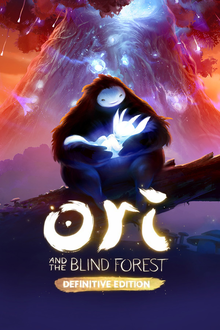 Box art for the game Ori and the Blind Forest: Definitive Edition