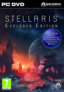 Box art for the game Stellaris