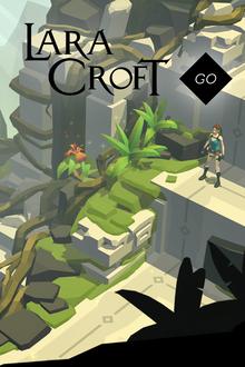 Box art for the game Lara Croft GO