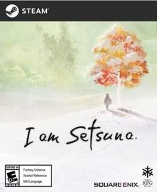 Box art for the game I am Setsuna