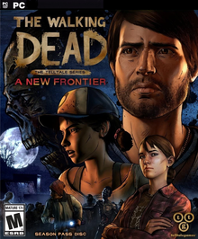 Box art for the game The Walking Dead - A New Frontier