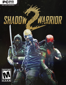 Box art for the game Shadow Warrior 2