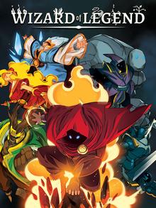 Capa do jogo Wizard of Legend