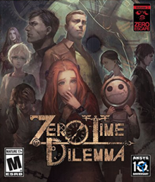 Box art for the game Zero Time Dilemma