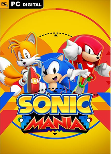 Box art for the game Sonic Mania