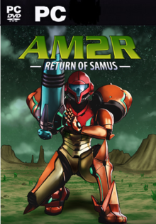 Box art for the game  AM2R: Another Metroid 2 Remake Project