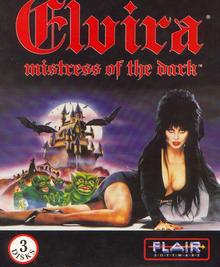 Box art for the game Elvira - Misstress of the Dark