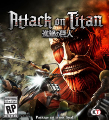 Box art for the game Attack on Titan: Wings of Freedom
