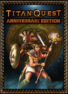 Box art for the game Titan Quest: Anniversary Edition