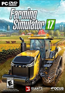 Box art for the game Farming Simulator 17