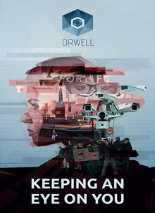 Box art for the game Orwell