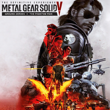 Box art for the game Metal Gear Solid V: The Definitive Experience