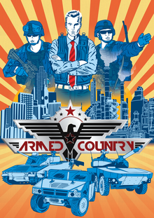 Box art for the game Armed Country