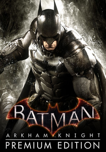Box art for the game Batman: Arkham Knight - Premium Edition