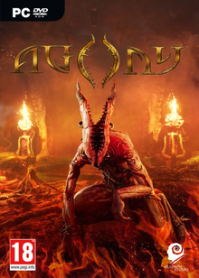 Box art for the game Agony (2017)