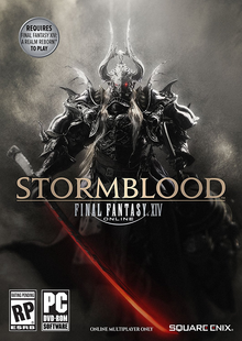 Box art for the game Final Fantasy XIV: Stormblood