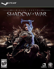 Box art for the game Middle-earth: Shadow of War