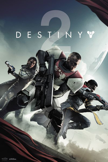 Box art for the game Destiny 2