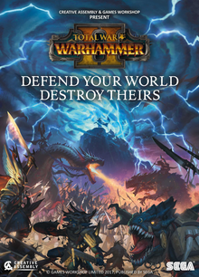 Box art for the game Total War: Warhammer II