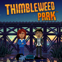 Box art for the game Thimbleweed Park