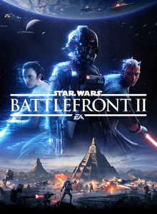 Box art for the game Star Wars Battlefront II (2017)