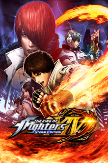 Box art for the game King of Fighters XIV