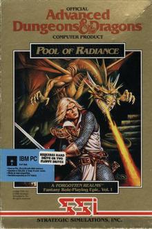 Capa do jogo Advanced Dungeons & Dragons: Pool of Radiance